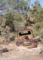 Old rusted car, Fish River Canyon