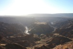 View over Fish River Canyon
