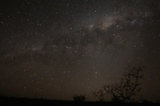 Night sky and Milky Way, Fish River Canyon